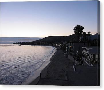 Ca Beach - 121236 Canvas Print by DC Photographer