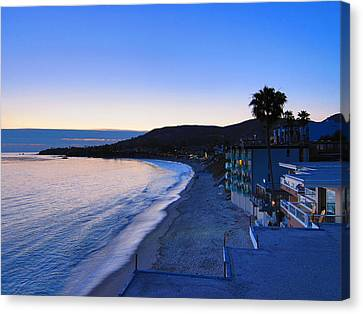 Ca Beach - 121237 Canvas Print by DC Photographer