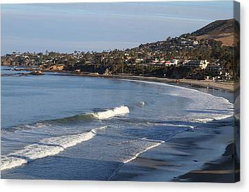 Ca Beach - 121290 Canvas Print by DC Photographer