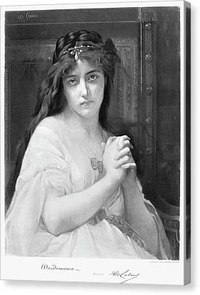 Cabanel Desdemona Canvas Print by Granger
