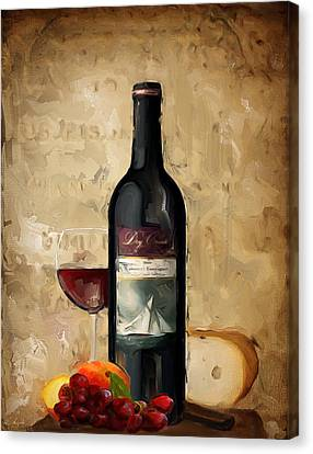 Cabernet Iv Canvas Print by Lourry Legarde