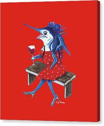 Cabernet Trixie Canvas Print
