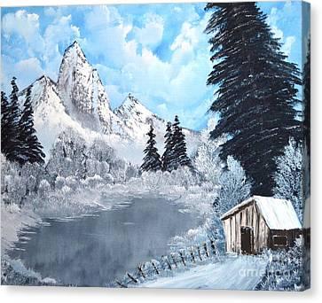 Cabin Fever Canvas Print by John Kemp