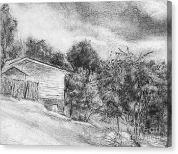 Cabin Canvas Print