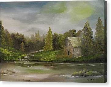 Cabin Retreat Canvas Print