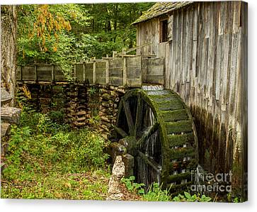 Cable Mill Cades Cove Canvas Print