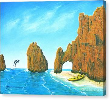Cabo San Lucas Mexico Canvas Print by Jerome Stumphauzer