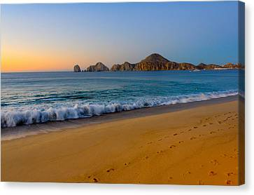 Cabo San Lucas Morning Canvas Print by Mark Goodman
