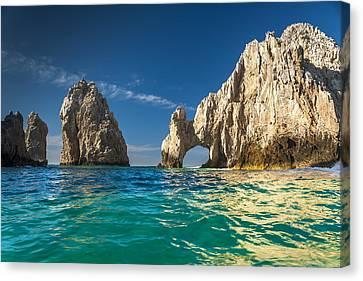 Beached Canvas Print - Cabo San Lucas by Sebastian Musial
