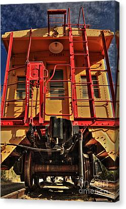 Caboose Canvas Print by James Eddy