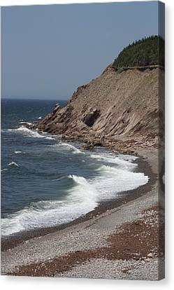 Cabot Trail Scenery Canvas Print
