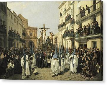 Cabral Bejarano, Manuel 1827-1891 Canvas Print by Everett