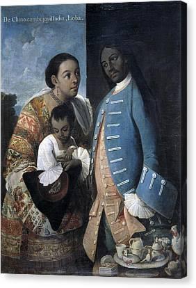Cabrera, Miguel 1695-1768. De Canvas Print by Everett