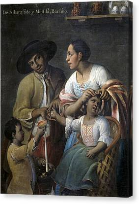 Cabrera, Miguel 1695-1768. From Canvas Print by Everett