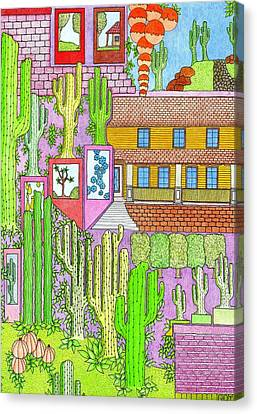 Cacti4j Canvas Print