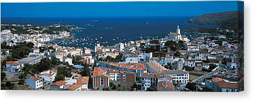 Cadaques Costa Brava Spain Canvas Print by Panoramic Images