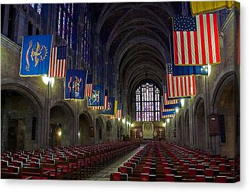 Cadet Chapel At West Point Canvas Print