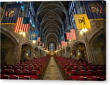Cadet Chapel Canvas Print