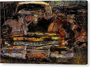 Cadillac Canvas Print by Jim Vance