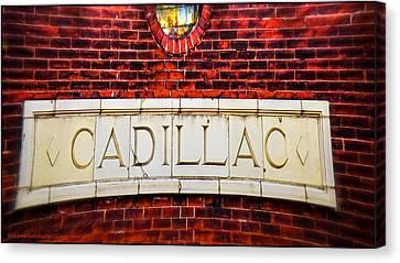 Cadillac Canvas Print by LeeAnn McLaneGoetz McLaneGoetzStudioLLCcom