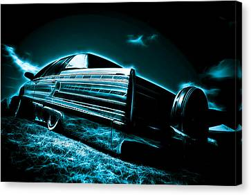 Cadillac Lowrider Canvas Print by motography aka Phil Clark