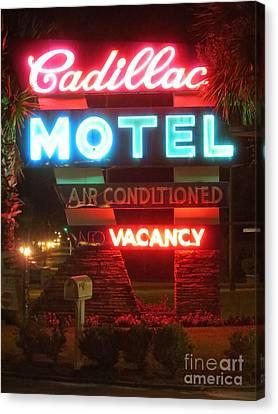 Cadillac Motel Canvas Print by Tim Townsend