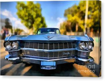 1964 Cadillac Series 62 Deville Canvas Print by George Atsametakis