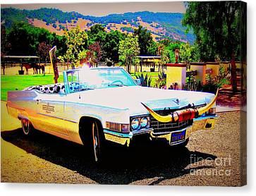 Cadillac Supreme Canvas Print by Jodie  Scheller