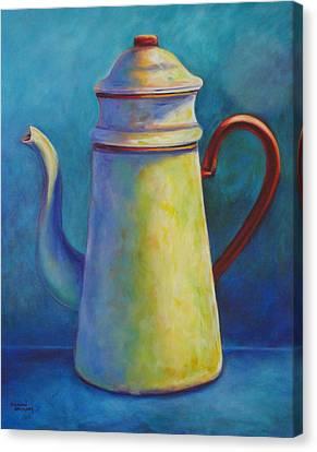 Cafe Au Lait Canvas Print by Shannon Grissom