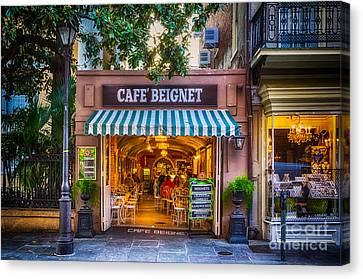 Cafe Beignet Morning Nola Canvas Print