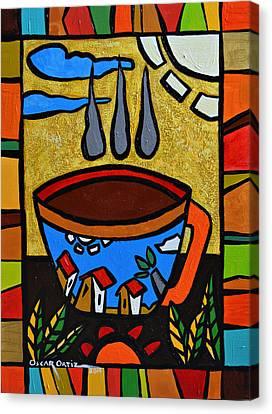 Cafe Criollo  Canvas Print