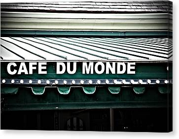 Cafe Du Monde Canvas Print