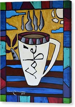 Cafe Resto Canvas Print