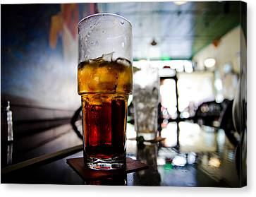 Cafe Canvas Print by Off The Beaten Path Photography - Andrew Alexander