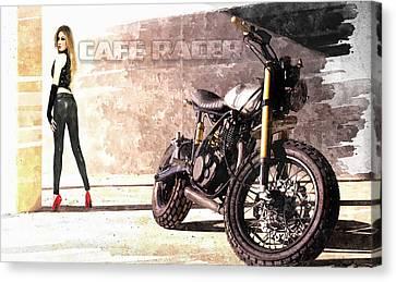 Cafe Racer Canvas Print