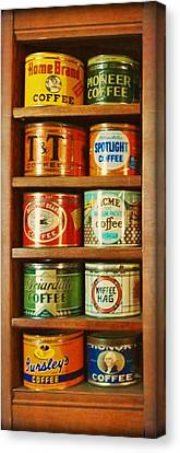 Caffe Retro No. 3 Canvas Print by Douglas MooreZart
