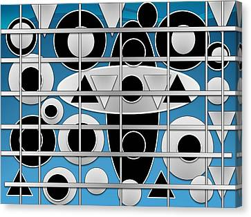 Cage5  Canvas Print by Olubunmi Oluwadare