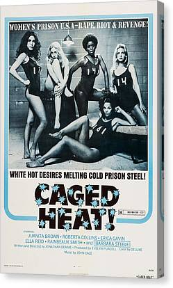Caged Heat, Us Poster, Clockwise Canvas Print