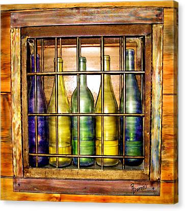 Caged Spirits Canvas Print by Ric Darrell