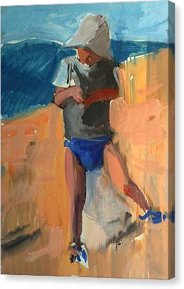 Loose Style Canvas Print - Cagnes by Daniel Clarke