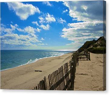 Cahoon Hollow Beach Canvas Print