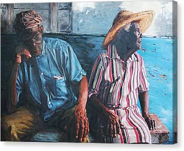 Caicos Time Canvas Print by John Matthew
