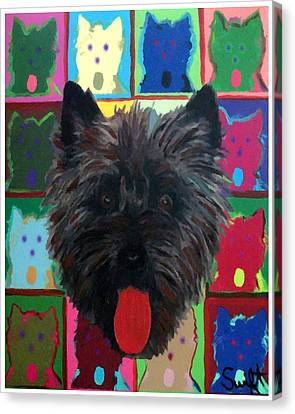 Cairn Terrier Canvas Print by Char Swift