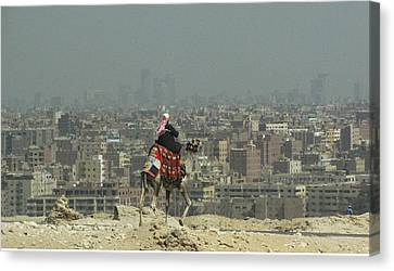Canvas Print featuring the photograph Cairo Egypt by Jennifer Wheatley Wolf
