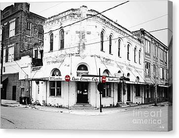 South Louisiana Canvas Print - Cajun Corner Cafe by Scott Pellegrin