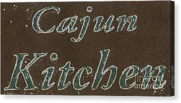 Cajun Kitchen Canvas Print by Joseph Baril