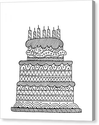 Cake Canvas Print by Neeti Goswami