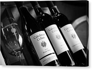Cakebread Cellars Canvas Print by Peak Photography by Clint Easley
