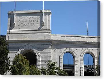 Cal Golden Bears California Memorial Stadium Berkeley California 5d24675 Canvas Print