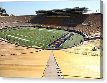 Cal Golden Bears California Memorial Stadium Berkeley California 5d24695 Canvas Print
